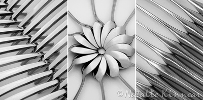 The Cutlery Set Triptych