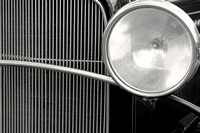 Black and White Vintage Car Abstract 1 - Natalie Kinnear Photography
