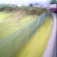 Steam Train Abstract - Natalie Kinnear Photography - Print and Canvas Wall Art