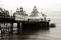 Textured Image of Eastbourne Pier - East Sussex - England